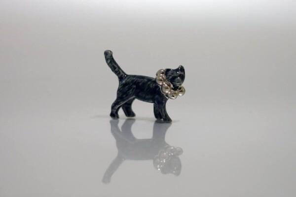 Porcelain Brooch Cat Minka | FashionShop PARAZIT