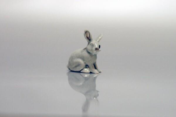 Porcelain Brooch Rabbit Minka | FashionShop PARAZIT