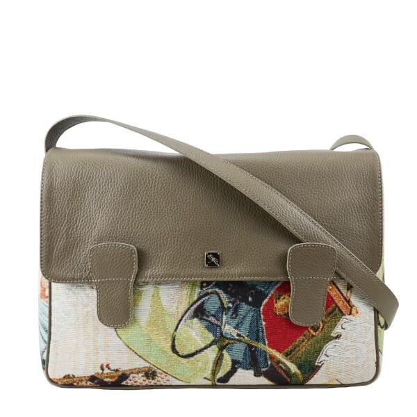 Alexandra messenger bag taupe | Tara´s