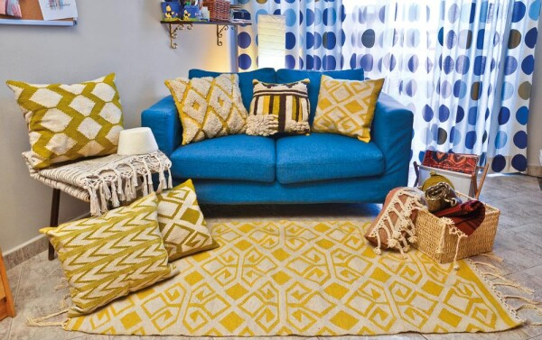 Wool Rug Kilim - Bereket | Ariee Home & Gifts