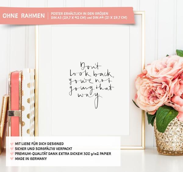 Tales by Jen Art Print: Do not look back   Tales by Jen