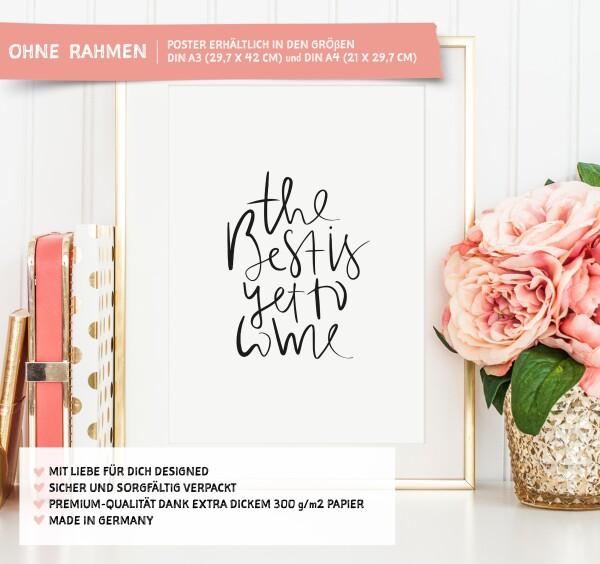 Tales by Jen Art Print: The best is yet to come | Tales by Jen