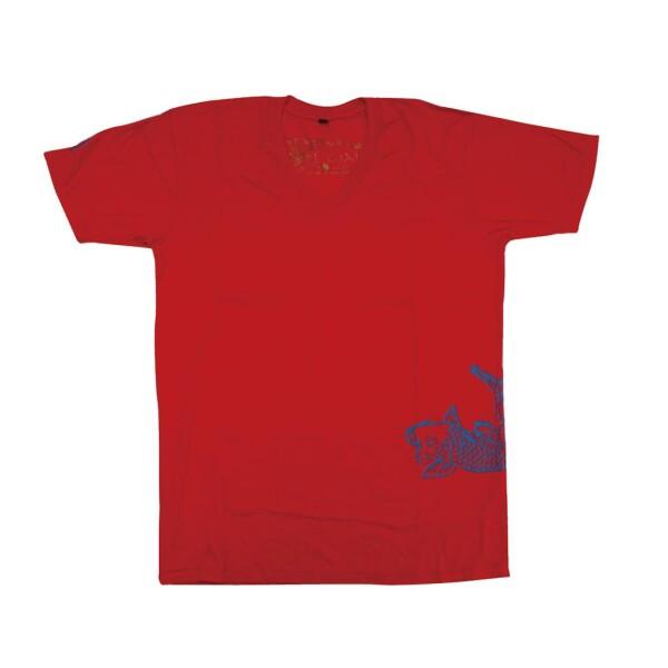 Chakura Koi T-Shirt by Ku Ambiance   Ku Ambiance