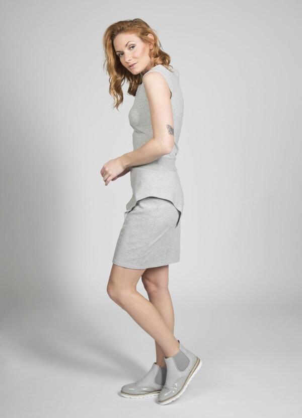 Stretch dress Nea - cherry green | kirsch-grün