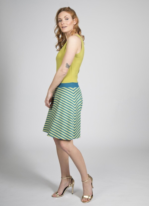 Dress Suri with cutout in the back | kirsch-grün