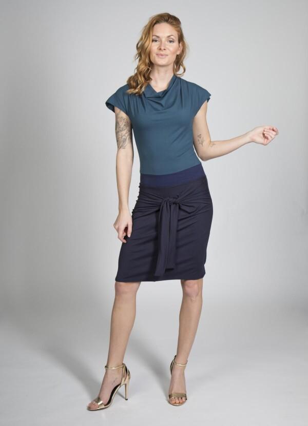 Dress Nele - cherry green | kirsch-grün