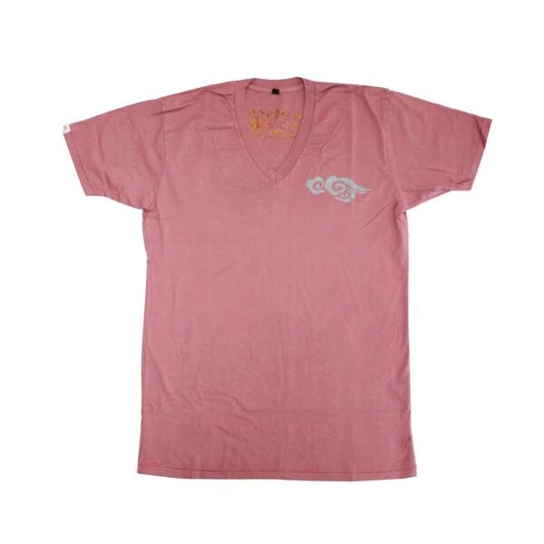 Chakura T-Shirt V-Neck Clouds by Ku Ambiance | Ku Ambiance