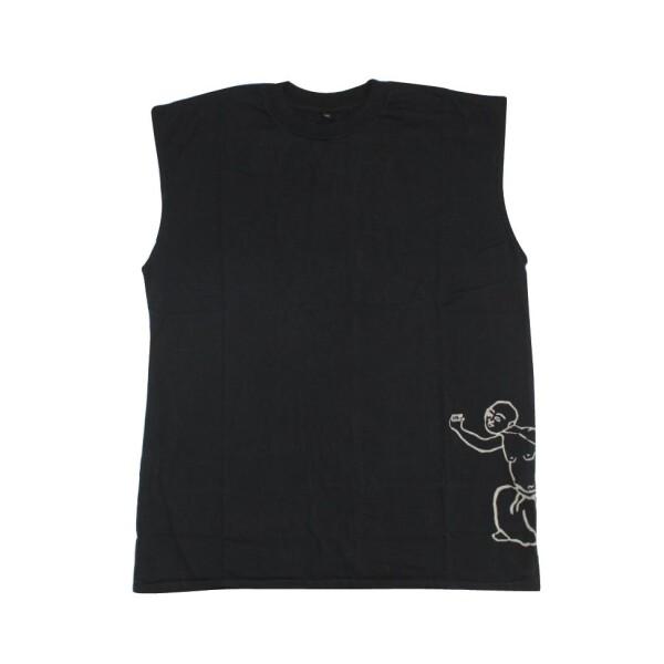 Sleeveless shirt Dancing Buddha by Ku Ambiance | Ku Ambiance