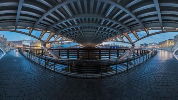 Berlin - Crown Prince Bridge Panorama by Jean Claude Castor   Photocircle