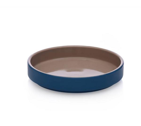 Ichendorf Milano ARCIPELAGO bowl stoneware 21 x 4 cm sand / blue   CPS_concept store