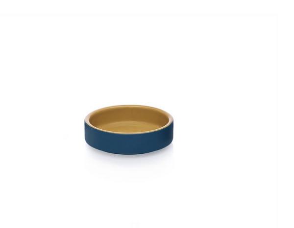 Ichendorf Milano ARCIPELAGO bowl stoneware 10 x 3 cm ivory / blue | CPS_concept store