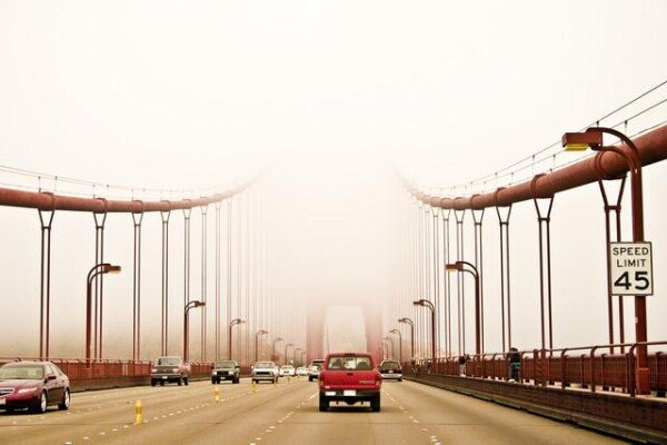 Golden Gate Bridge by Un-typical Verena Selbach | Photocircle