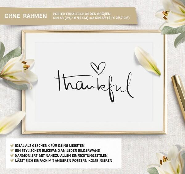 Tales by Jen Art Print: Thankful | Tales by Jen