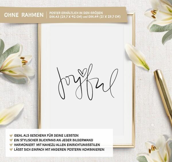 Tales by Jen Art Print: Joyful | Tales by Jen