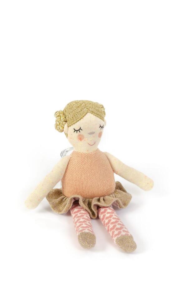 Ballerina with rattle from Smallstuff | SCHAUPLATZ Kevelaer