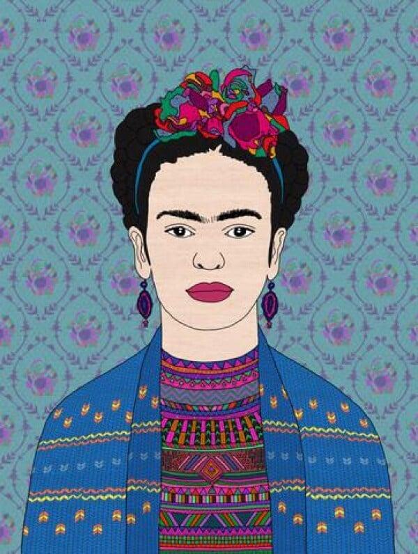 Frida Kahlo from Bianca Green   Photocircle
