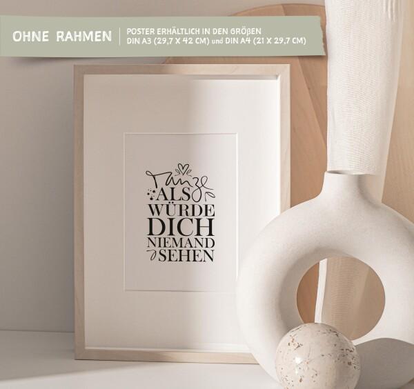 Tales by Jen Art Print: Dance as if nobody would see you   Tales by Jen