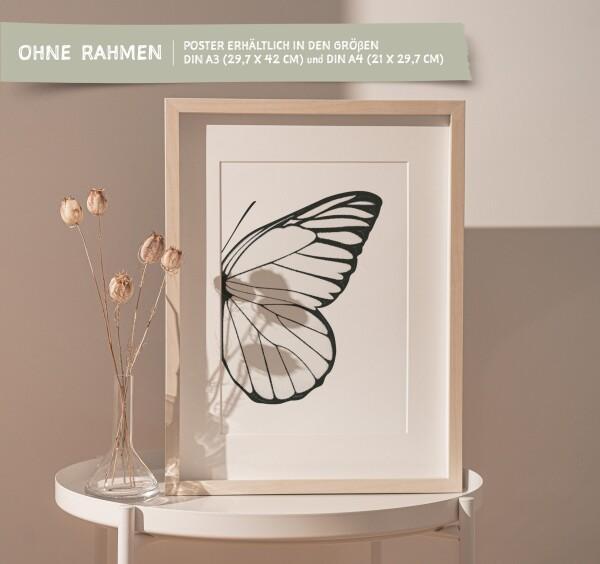 Tales by Jen Art Print: Butterfly Wing Right | Tales by Jen