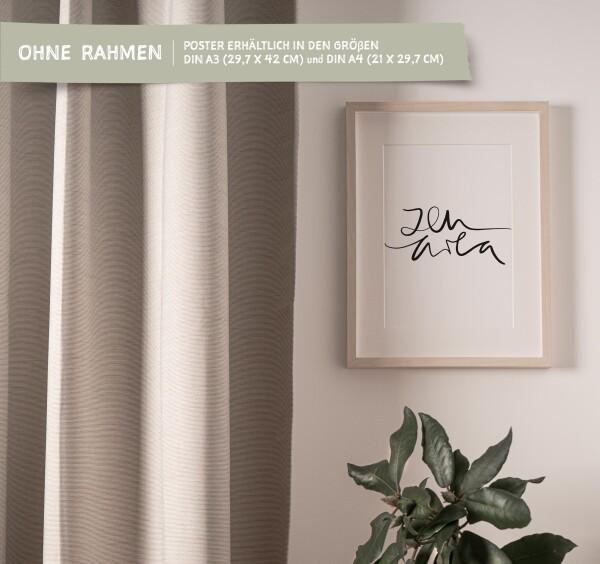 Tales by Jen Art Print: Zen area | Tales by Jen