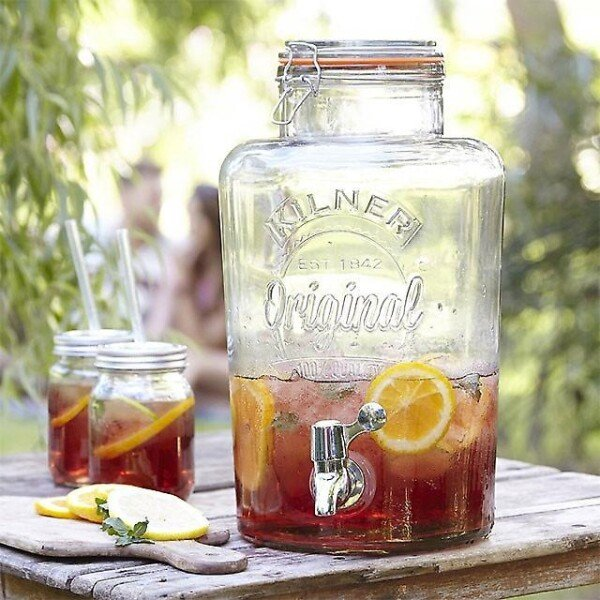 Beverage dispenser 5l Kilner Original with tap | Calluna Cottage