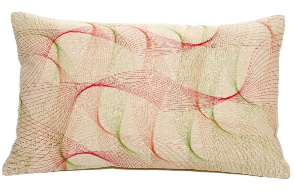 Pillow_Stella_red | Lotus Collection
