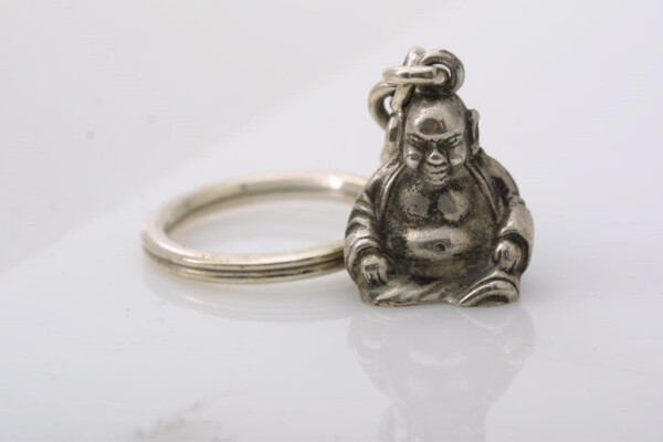 Budda keychain | Goldschmiede Andrea Quast