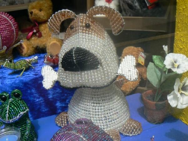 Beads lamp dog | echt bärig