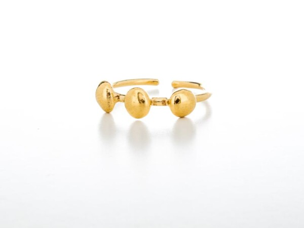 Ring 3 Pepitas Gold | HLC Jewellery