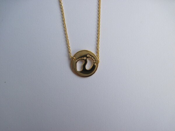 gold-plated silver chain for young mothers | mancherlei