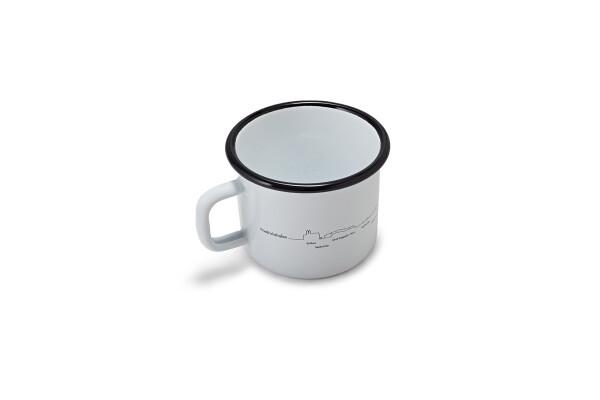 Enamel mug Friedrichshafen | Gessler 1862