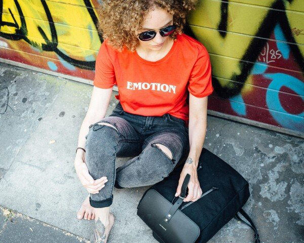 GMC T-Shirt Emotion red / white | Magasin 2