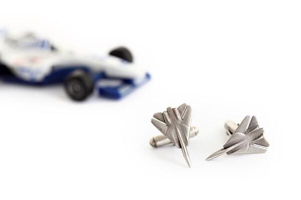 Jet Fighter cufflinks | MadMenJewelry