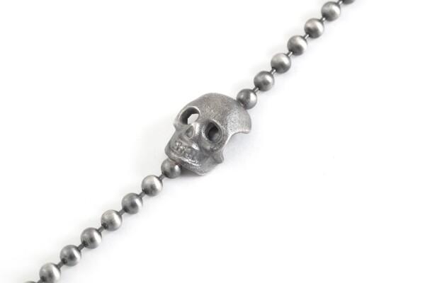 Ball Chain Skull Bracelet | MadMenJewelry