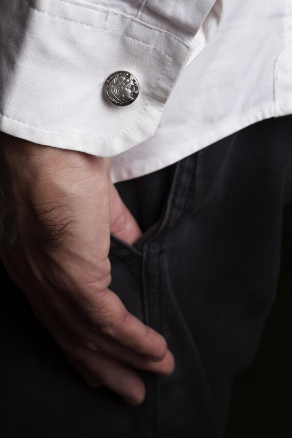 Roman Coins Cufflinks Replica | MadMenJewelry