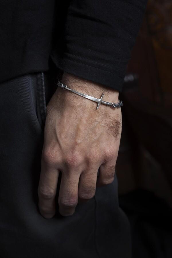 Sword Chain Link Bracelet | TomerM Jewelry