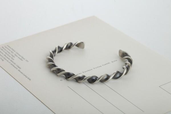 Twist Cuff Bracelet | MadMenJewelry