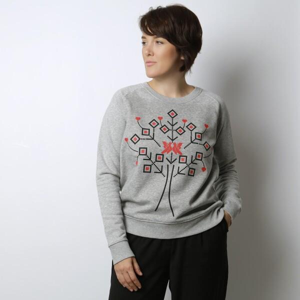 Organic cotton sweatshirt COPACANA | ALISIA ENCO