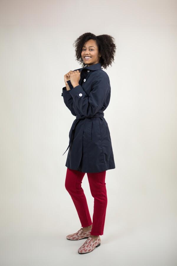 Short trench coat   Wiebelhaus SIMPLY WEAR