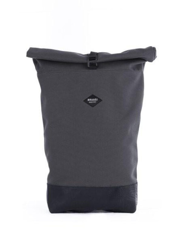 Waterproof Backpack Canvas Grey BRAASI Industry | FashionShop PARAZIT