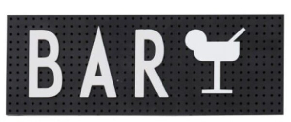 Design Letters Black Sign Message Board   Papperlapapp