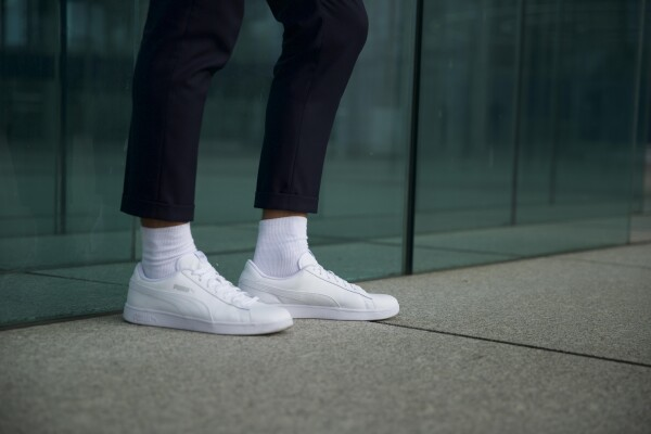 Male Color Line white - without waistband | Sockinger-Die Sockenmanufaktur