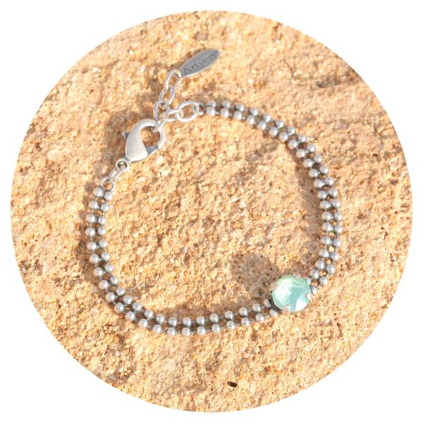 artjany bracelet mint green | artjany - Kunstjuwelen