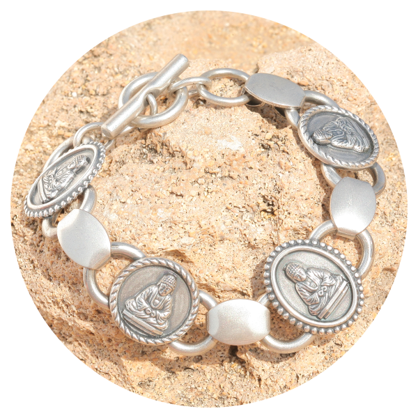 artjany Bracelet buddha   artjany - Kunstjuwelen