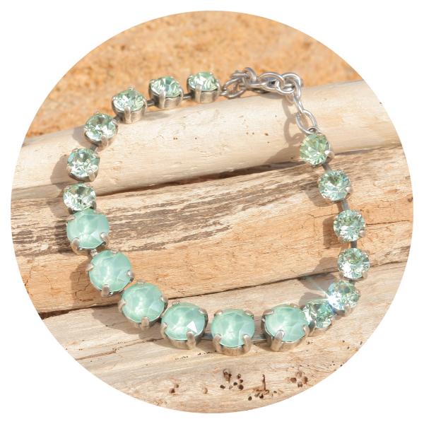artjany bracelet mint green mix   artjany - Kunstjuwelen