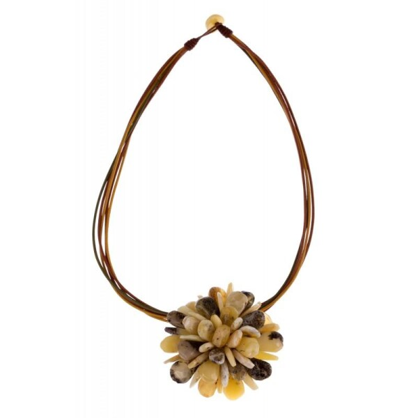 Amber necklace-brooch | BalticBuy