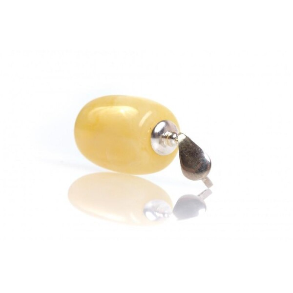 Amber Pendant With a Ailver Loop | BalticBuy