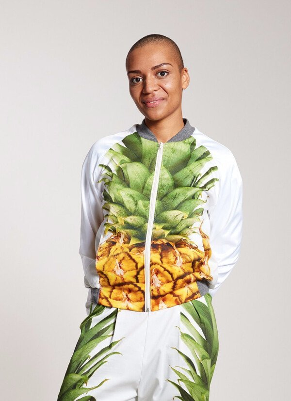 ANANAS satin jacket women | ELTERNHAUS