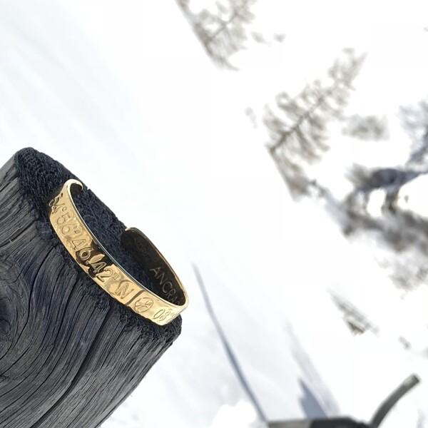 KITZBÜHEL coordinate bracelets men silver plated   ANCRAGE