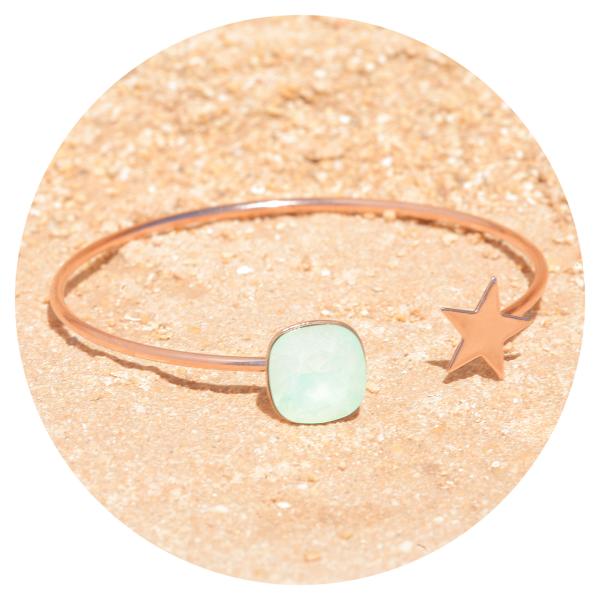 artjany bangle crysolite opal | artjany - Kunstjuwelen