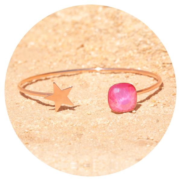 artjany bangle peony pink | artjany - Kunstjuwelen